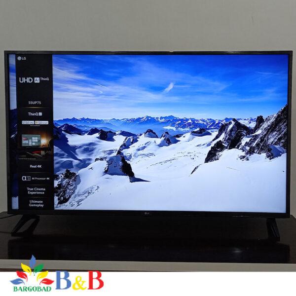 کیفیت تصویر تلویزیون UP7550