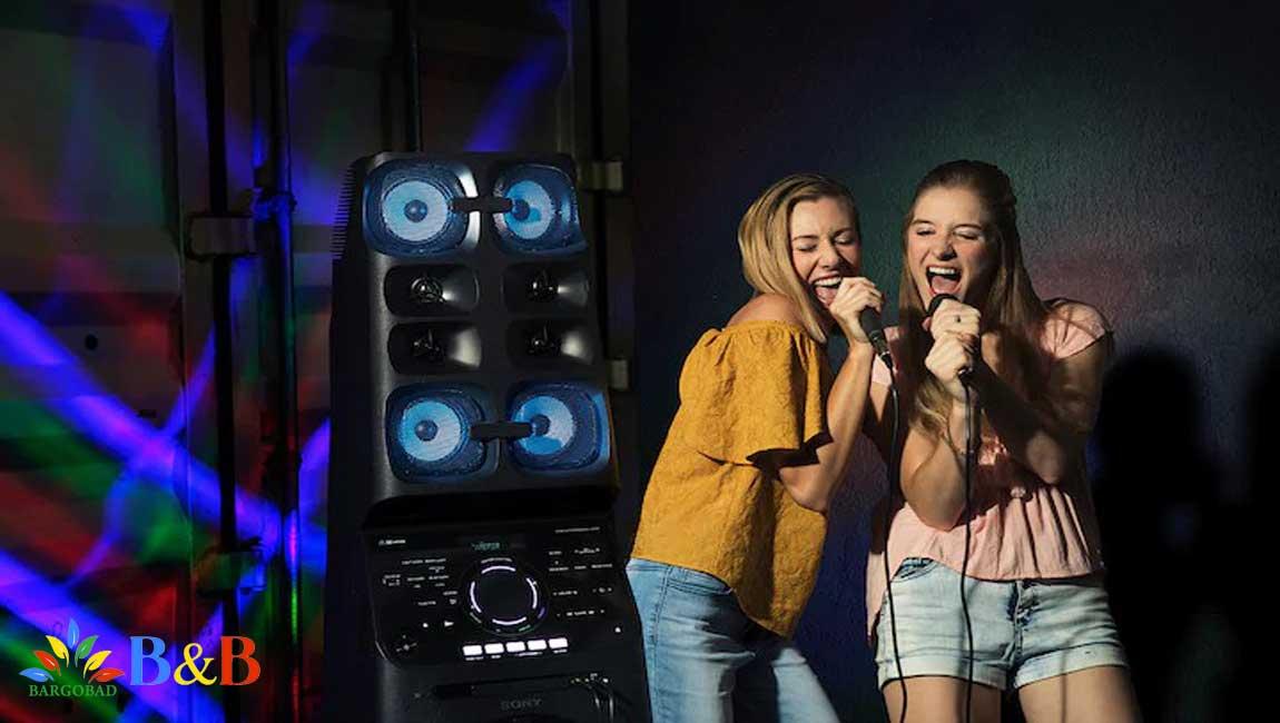 خوانندگی با قابلیت Karaoke در 90