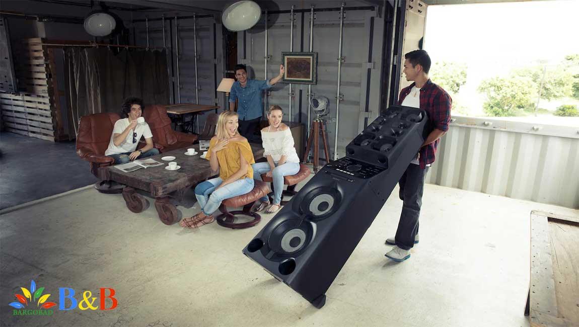 نقاط ضعف و قوت سیستم صوتی V90