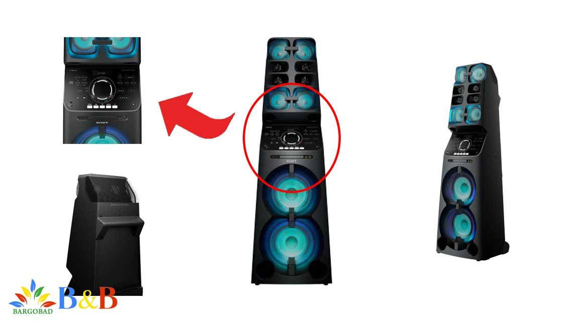 بلندگو های سیستم صوتی سونی V90
