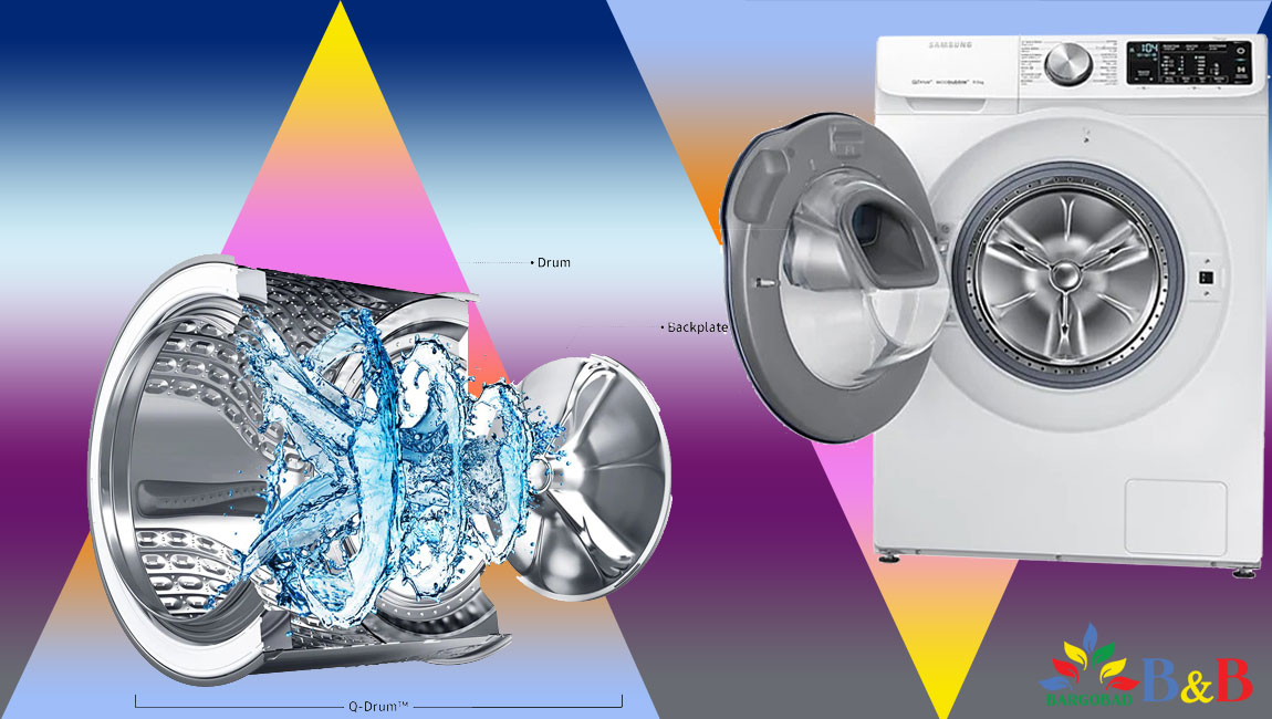 طراحی ماشین لباسشویی کیودرایو سامسونگ 90M645OPX