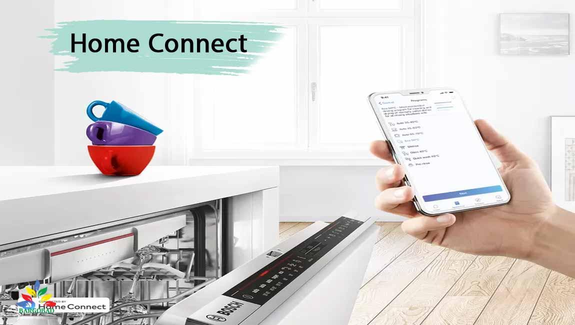 کنترل از ره دور Home Connect