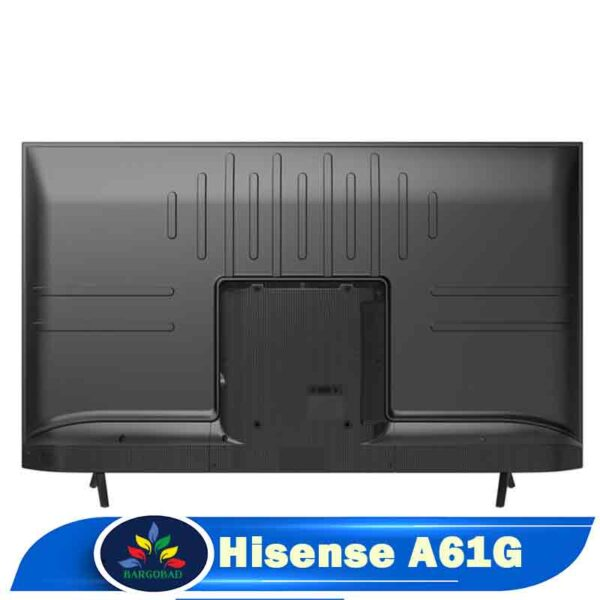 نمای پشت تلویزیون 43 اینچ هایسنس A61G