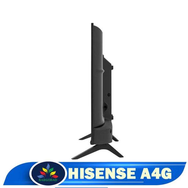 ضخامت تلویزیون هایسنس A4G