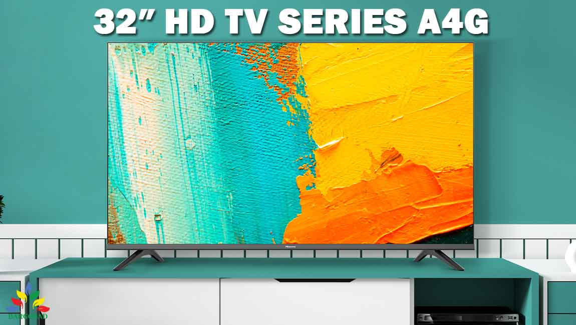 تلویزیون 32 اینچ هایسنس A4G مدل 32A4G ساخت 2021