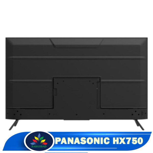 نمای پشت تلویزیون پاناسونیک hx750