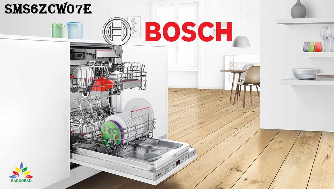 ماشین ظرفشویی بوش 6ZCW07E ظرفیت 14 نفره SMS6ZCW07E