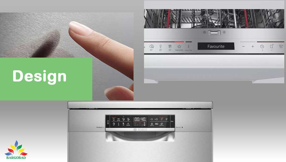 طراحی ماشین ظرفشویی بوش 6ZCI49E
