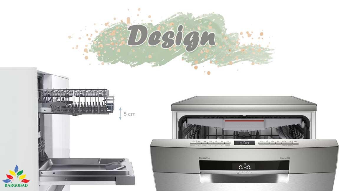 طراحی ماشین ظرفشویی SMS6ECI03Eبوش