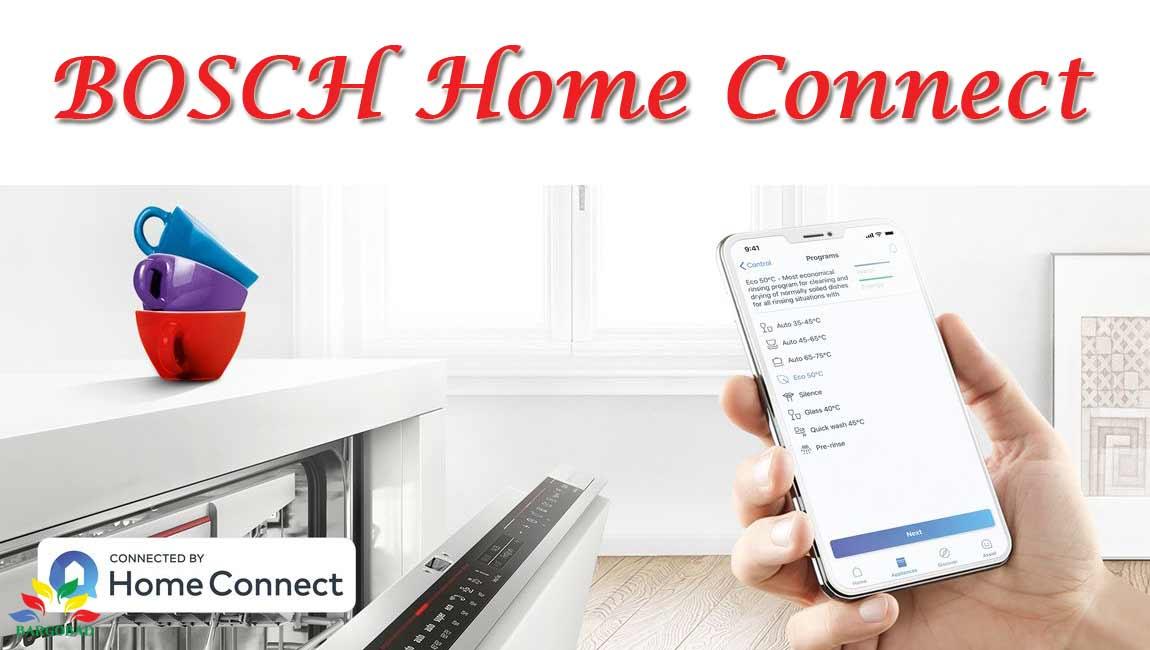 Home Connect در ظرفشویی بوش SMS6ECI03E
